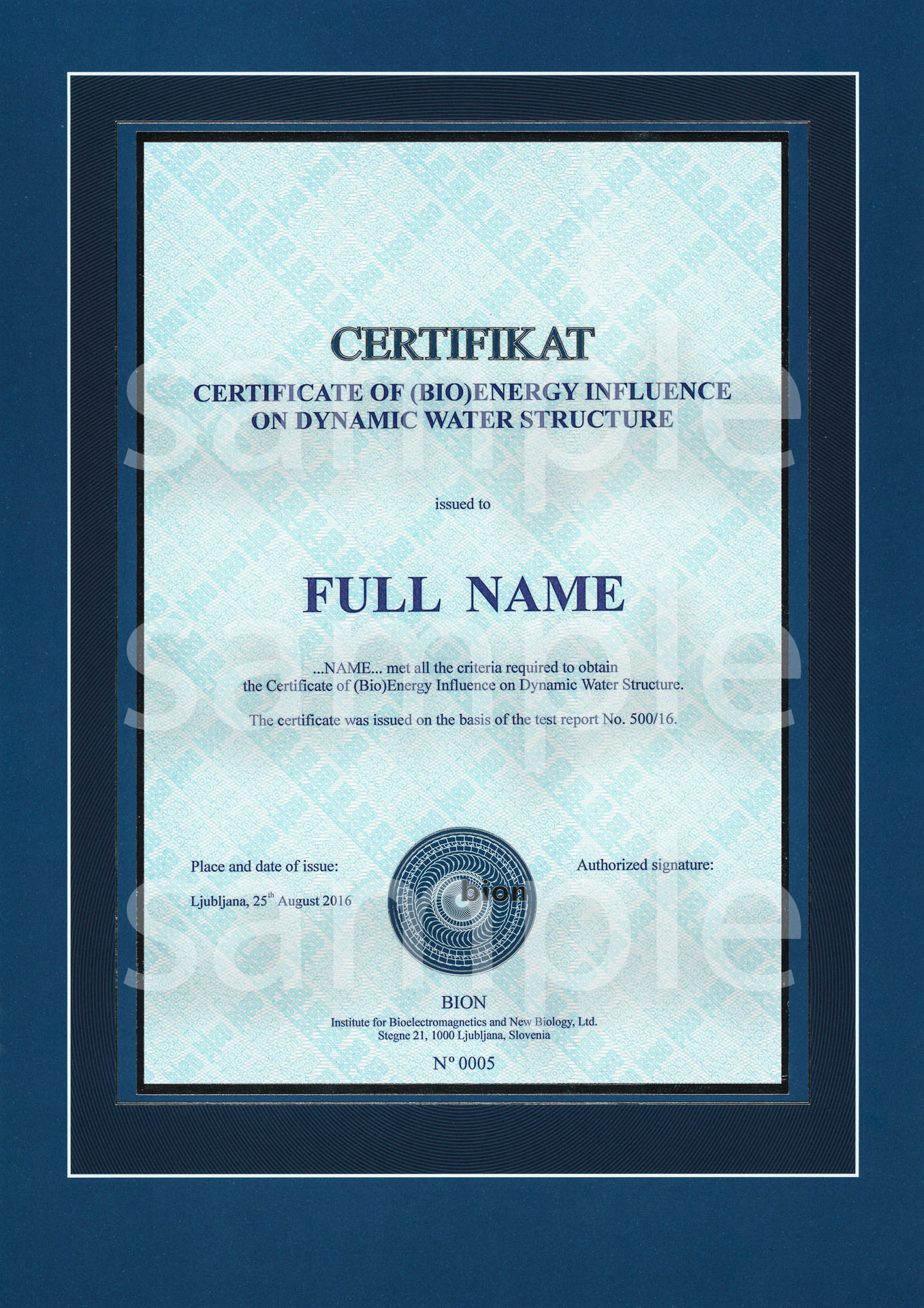 bion_institute-certifikat_of_bioenergy_impact_on_water